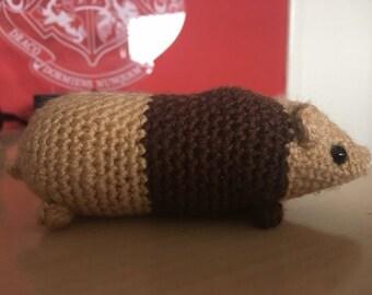 Handmade Crochet Guinea Pig