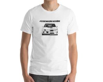 Subaru wrx sti impreza gc8 jdm awd tshirt