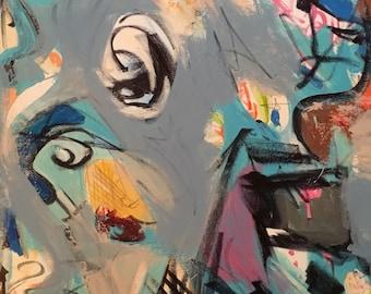 """24""""x 18"""" acrylic on canvas"""