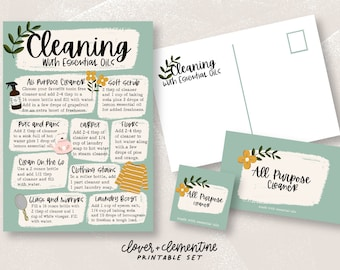 5x7 Happy Oily Mail Oil Class Oily education Oil Education Mailers Welcome Kit Ditch and Switch