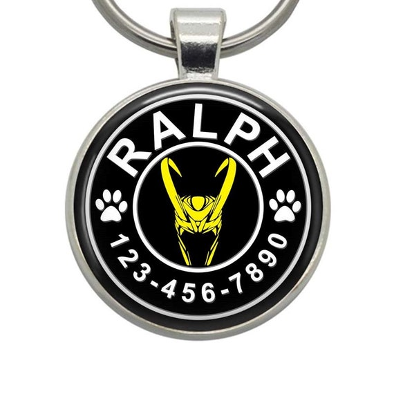 Dog Tags Loki Marvel Pet Tags Cat Tags Dog Id Tags Etsy