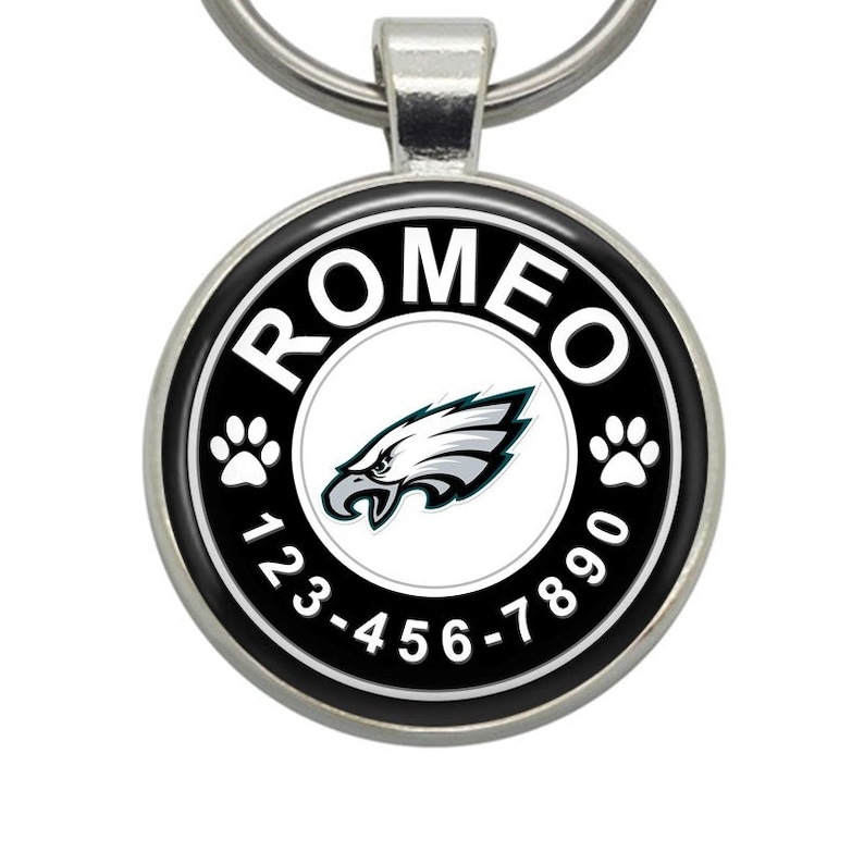 online store 1ec55 26b4a Dog Tags - Philadelphia Eagles - Pet Tags, Cat Tags, Dog ID Tags, Pet ID  Tags, Cat ID Tags