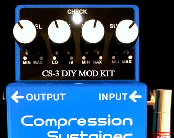 New Modify Your BOSS CS-3 CS3 SUPREME Mod D.I.Y Kit Guitar Effects Pedal