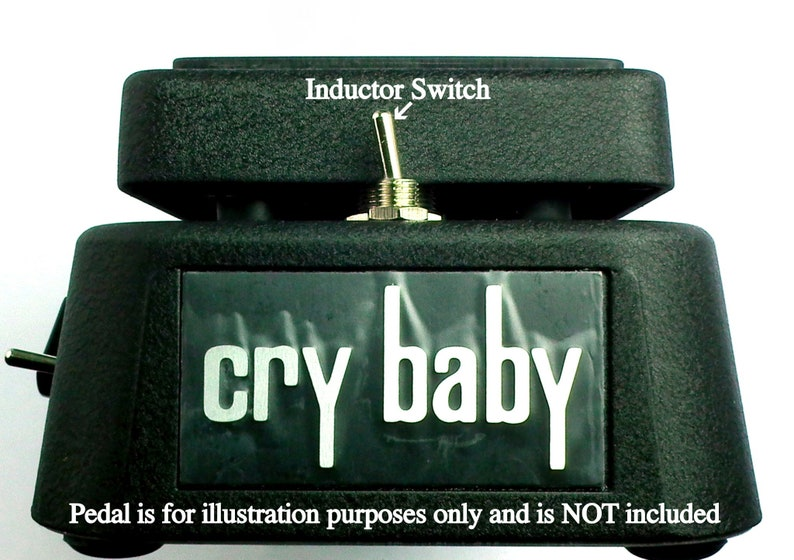 New modify your dunlop CRY BABY WAH to mellow wah Mod kit | Etsy