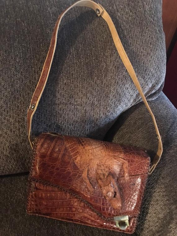 Vintage Alligator bag
