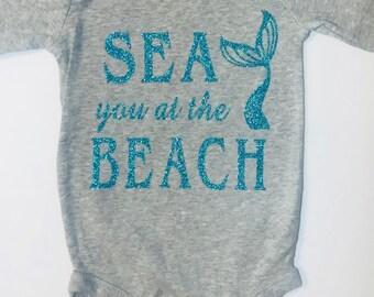 Sea you at the Beach Onesie