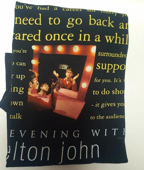 An Evening with Elton Jonh concert Tshirt, Elton J