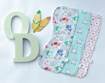 Burp Cloth - various patterns available