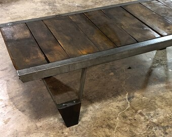 Reclaimed 100 Year Old Pallet Coffee Table