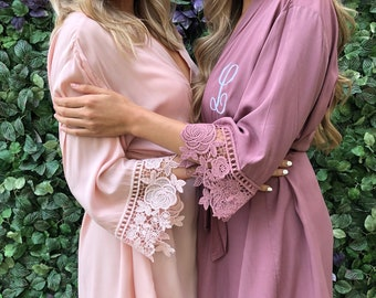 Bridesmaid robes  c08fd6b5c