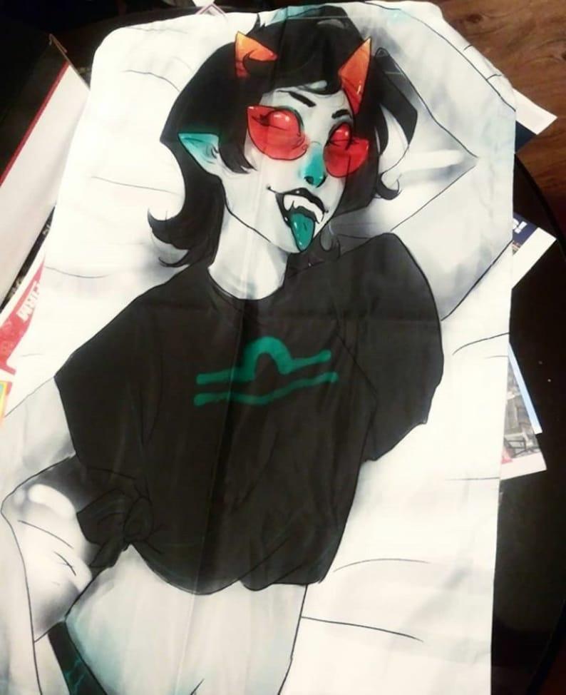 Homestuck Kanaya Maryam Body Pillow | Etsy