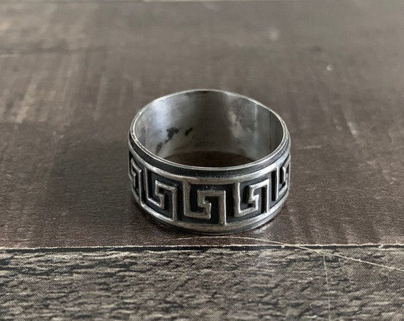 Sterling Silver Free Form Boho Ring