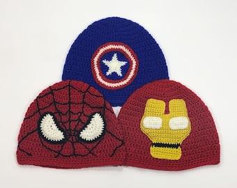 Marvel Super Hero Beanies 6c9461b82f9