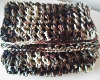 Knitted Scarf camouflage