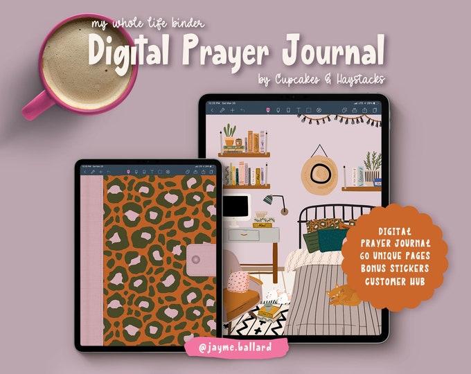 Digital Prayer Journal | Bonus Digital Stickers