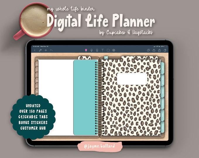 Digital Life Planner | Bonus Digital Stickers