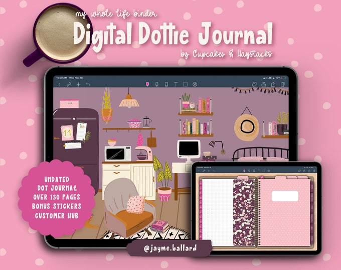 Digital Dottie Journal | Bonus Digital Stickers