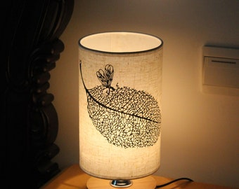Elf Spirit Inspired DIY Hand-made Paper-cutting Pasting Linen Lamp
