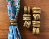 8 Wood Napkin Rings