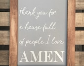 Amen—Small | Framed Sig...