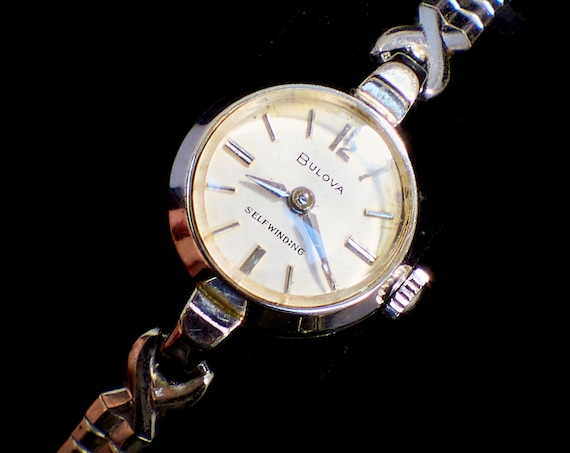 """1960s Vintage Cocktail Watch 