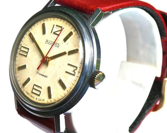 Rare Russian Vintage Watch Vostok | Watches for Men | Soviet Watch | Unisex Watch | Mens Watch | Russian Watch | USSR Watch | Men's Gift