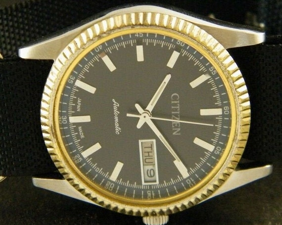 Vintage 1970s Citizen 8200A Automatic Men's/Unisex Watch | Made In Japan | Fully restored | CUSTOM/Modded Out