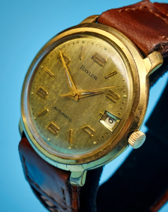 "1950s Tag Heuer ""Baylor"" Vintage Men's/Unixes Watch 