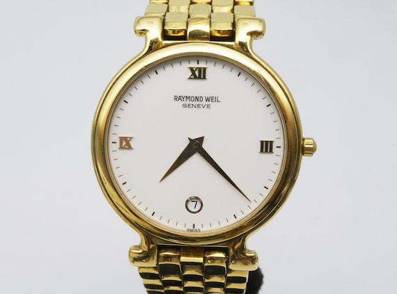 """Raymond Weil """"Fidelio"""" - Vintage Ladies Gold Bracelet Watch - Swiss Made - Elegant Women's Jewelry"""