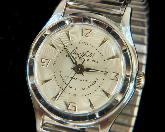 """1950s Tag Heuer """"Baylor"""" Vintage Men's/Unixes Watch 