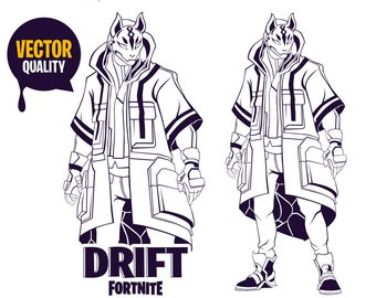 Fortnite Drift Skin Coloring Pages | Fortnite Cheat Detection