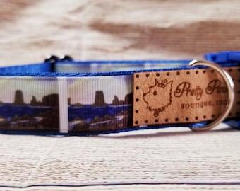 Rugged Coast Dog Collar