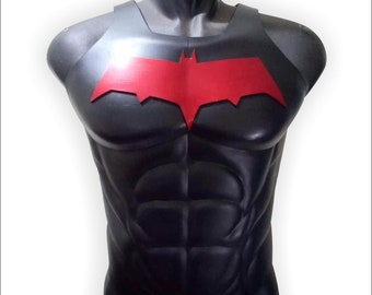 Red hood chest and torso armor cosplay