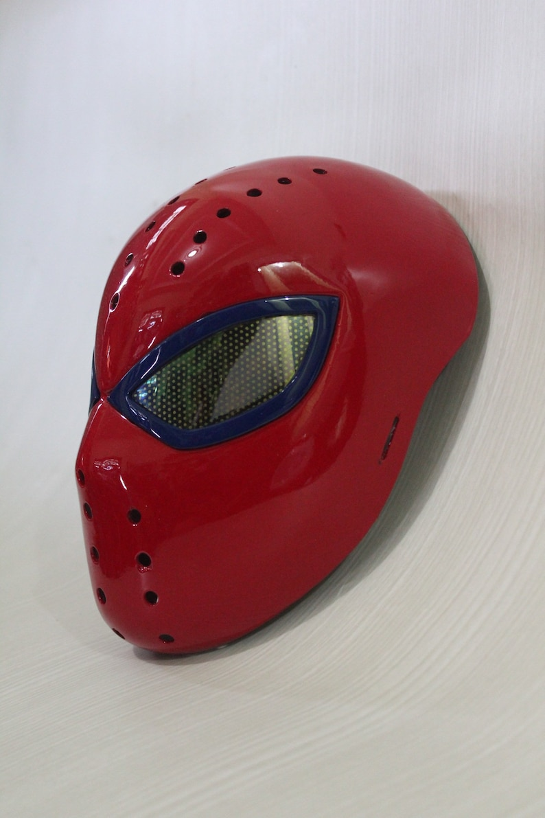 The amazing spiderman faceshell and lenses