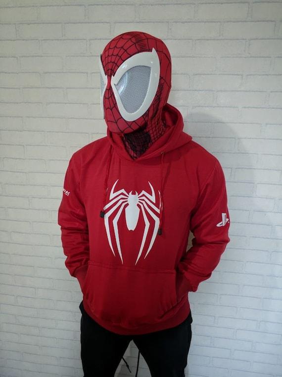 Scarlet spiderman vest Hoodie jacket   Etsy