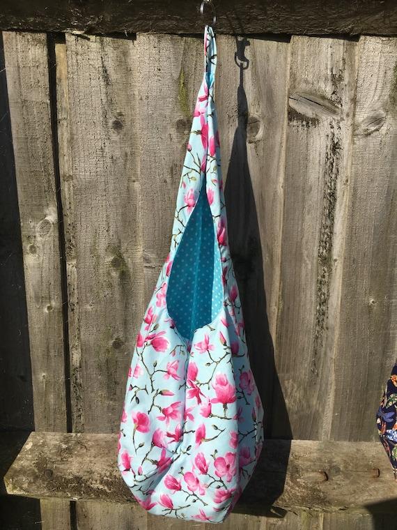 chevilles, peg sac, cuisine, buanderie, sac, accrocher sac, fleur de fleurs, rose,