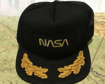 Your Dads Hats  Vintage NASA Trucker Hat cfe648c925cb