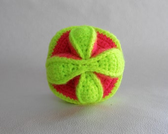 Puzzle Ball Crochet ball Amigurumi Toys  Puzzle Soft toy Handmade Toy  Ball Knitted toys Colored ball Toys for babies Toddler Puzzle Ball