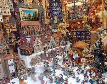 Window Shopping in Austria Toys Winter Wonderland Digital Photo