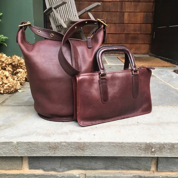 top brands free delivery quality design Vintage COACH (Glue-In) Slim Satchel Made in New York City