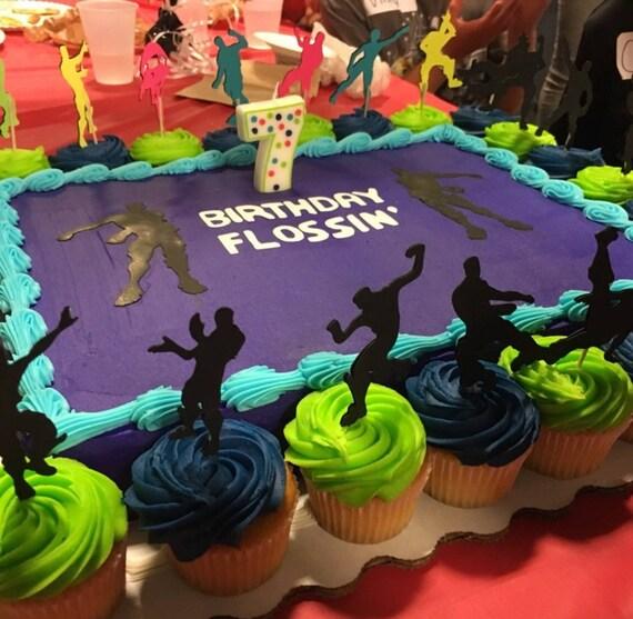 Cupcake A Fortnite Emoticones Danse Caracteres Fortnite Cake Etsy