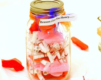Jar Notes Girlfriend Etsy