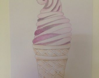 Drawing: ICE CREAM