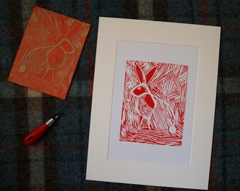 Red Bowland Hare -Limited Edition- 0/25