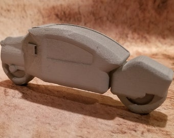 Sci-Fi Armored Bike 2, 28mm, 3D Printed, Contact Front Games
