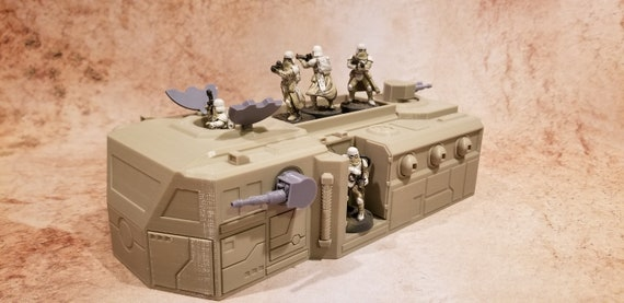 Sci-Fi Tank  SW Legion  28mm  3D Printed PLA Contact Front Games