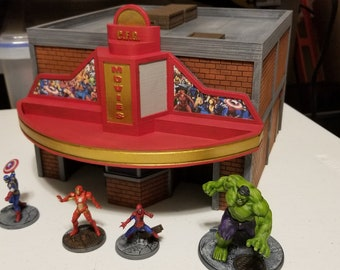 Theater / 40mm / Digital / MARVEL CRISIS PROTOCOL (Figures not included, or any other terrain)