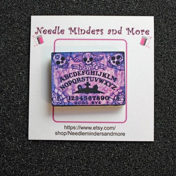 Pastel Ouija Board Needle Minder