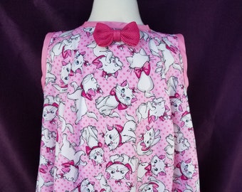 Pink Kitty Cat Toddler / Baby Dress