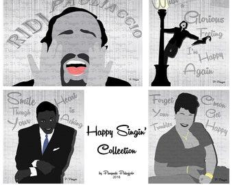 Happy Singin' (Full Set of 6)